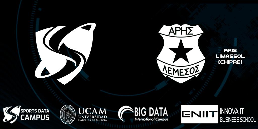 Acuerdo colaboración Aris Limassol Sports Data Campus